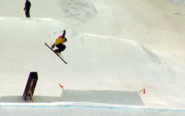 lucas salto slopestyle esporte espetacular (Foto: Reprodução TV Globo)
