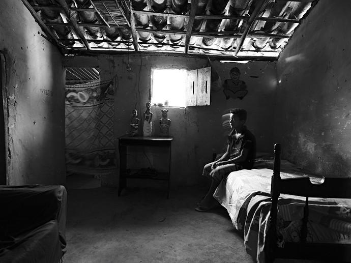 Ronilson, em Caraí (Foto: Maurício Nahas)