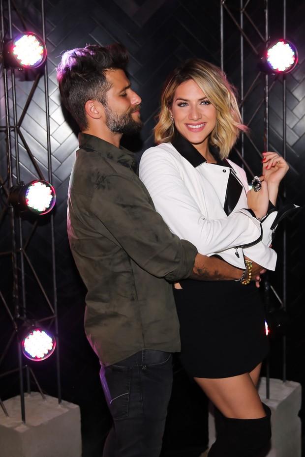 Bruno Gagliasso e Giovanna Ewbanck (Foto: Manuela Scarpa/Brazil News)