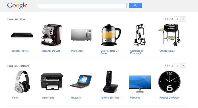 Google Shopping (Foto: Reprodução/Barbara Mannara)