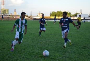Amistoso São Francisco e Seleção do Oeste do Pará (Foto: Weldon Luciano  - GloboEsporte.com)
