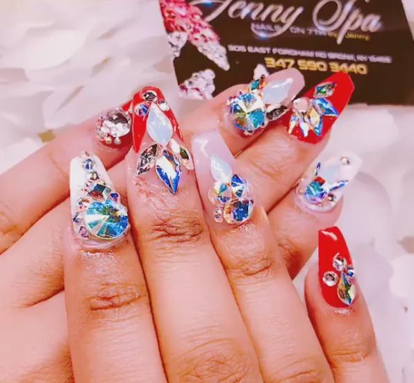 Nail art (Foto: Instagram/Reprodução)
