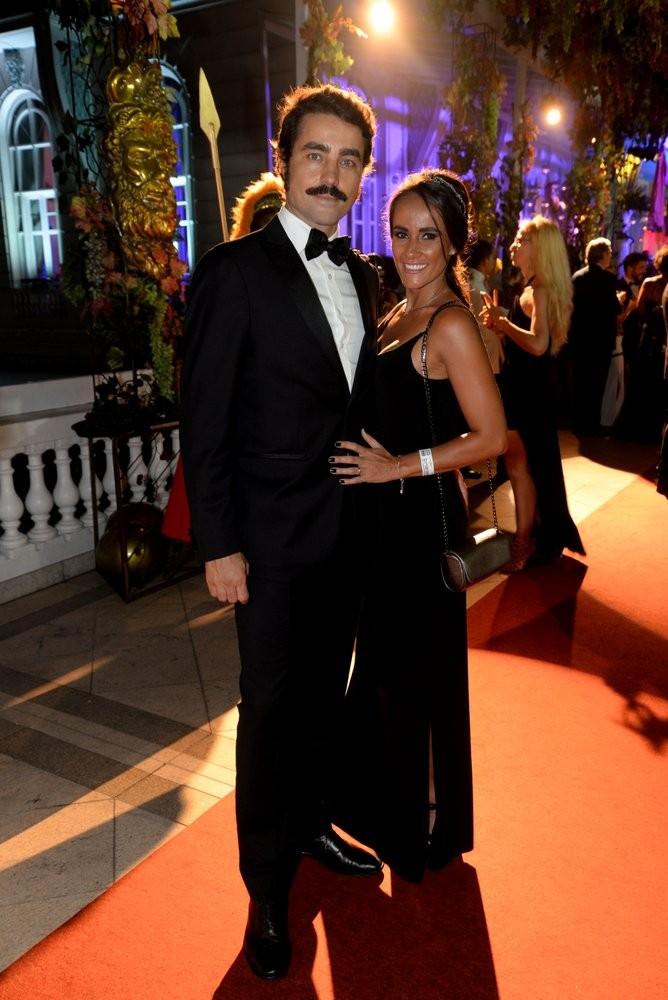 Ricardo Pereira e a mulher, Francisca Pinto (Foto: Leo Marinho / Ed. Globo)