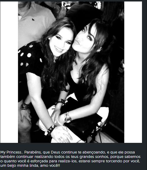 Rafaella Santos e Bruna Marquezine (Foto: Reprodução/ Instagram)