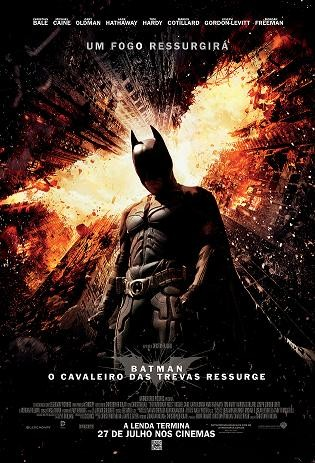 Cartaz do filme Batman O Cavaleiro Ressurge (Foto: divulgação)