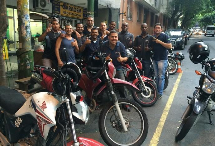 Luiz Besouro, ponto de mototáxi, TUF Brasil, UFC, MMA (Foto: Adriano Albuquerque)