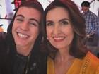 Criticada por Biel, Fátima Bernardes comenta pausa na carreira do cantor