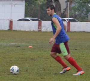Marcelo Felber, zagueiro Rio Branco-AC (Foto: Murilo Lima)