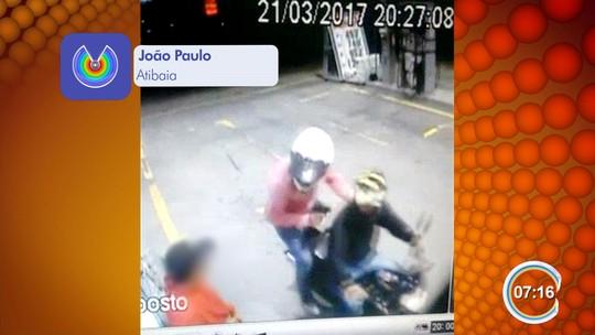 Dupla é presa após assaltar quatro postos de combustíveis em 1h30