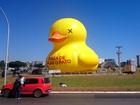 Com aval do Iphan, pato inflável da Fiesp de 20 metros volta à Esplanada