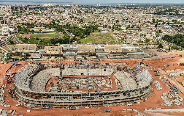 Arena da Amazônia, Manaus (Foto: Divulgação/Andrade Gutierrez)