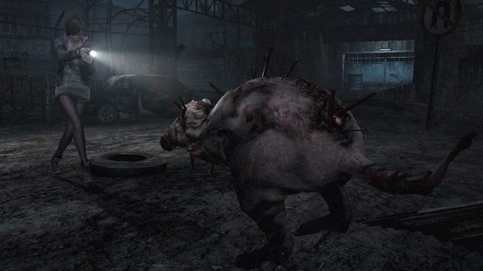 Os Orthrus parecem ratos gigantes infectados sem partes da pele (Foto: VG247)