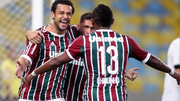 Fluminense x Palmeiras - Gol de Fred (Foto: Photocamera)