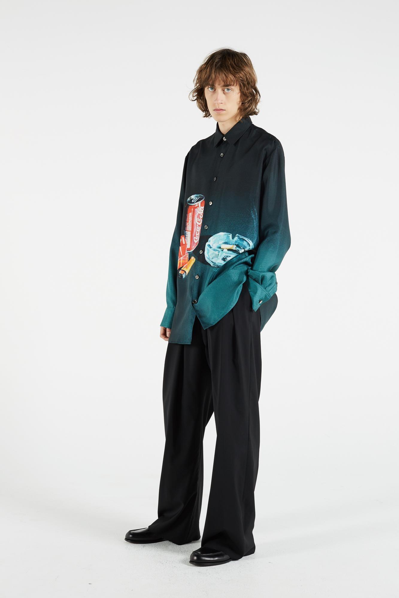 A camisa Portrait Silk Blair, de US$ 1000 (Foto: Divulgação)