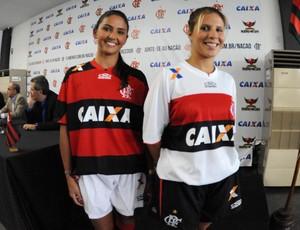 Coletiva Flamengo novo Uniforme Patrocinio (Foto: Alexandre Vidal/Fla Imagem)