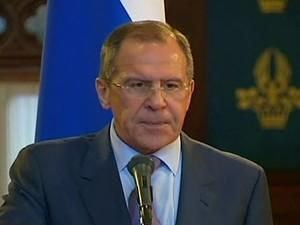 Sergei Lavrov - GNews (Foto: Reprodução GloboNews)