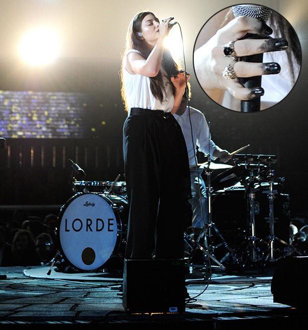 [Grammy - unhas] Lorde (Foto: AFP / Agência)
