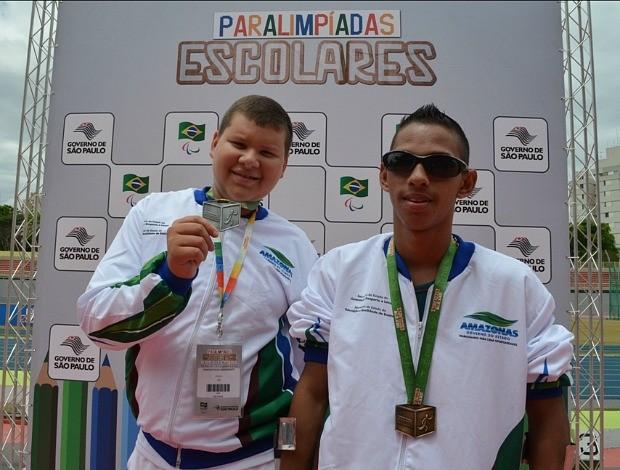 Amazonas nas paralimpíadas (Foto: Emanuel Mendes Siqueira/Sejel)
