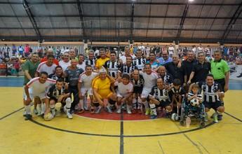 FOTOS: Craques do passado se reencontram em amistoso de futsal