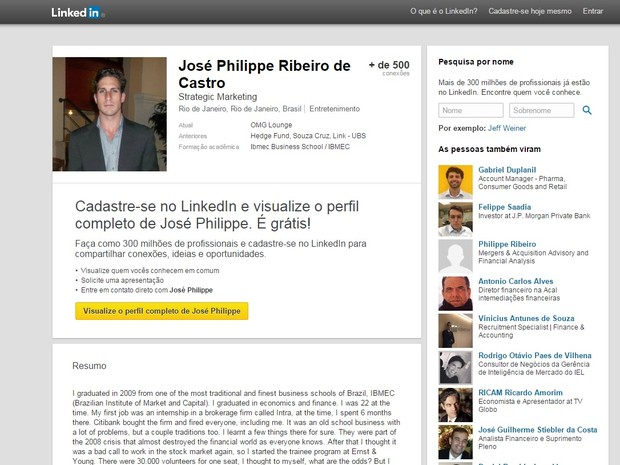 José Philippe defende direitos humanos na web (Foto: Reprodução/ Internet)