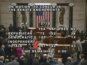Câmara dos EUA aprova acordo que eleva teto da dívida do país (Foto: Reprodução)