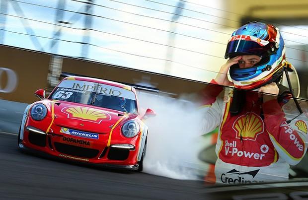Lico Kaesemodel no S do Senna na prova 1 de sábado (Foto: Divulgação/Luca Bassani)