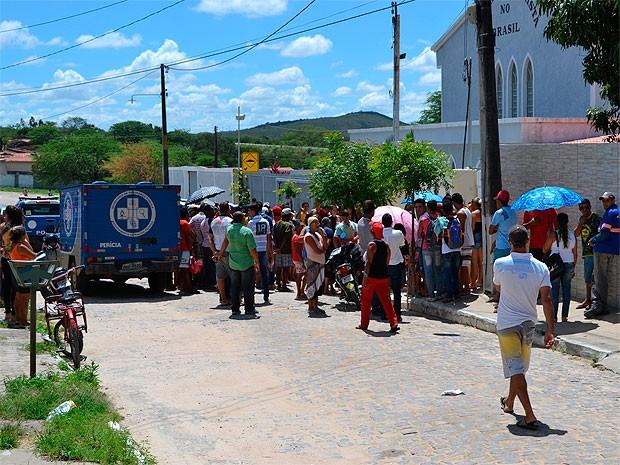 Mulher foi morta pelo marido antes de assinar divórcio em Jaguarari (Foto: João Carvalho / Portal Jaguarari)