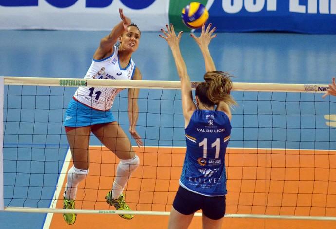 Osasco X São José - Superliga feminina (Foto: João Pires/Fotojump)