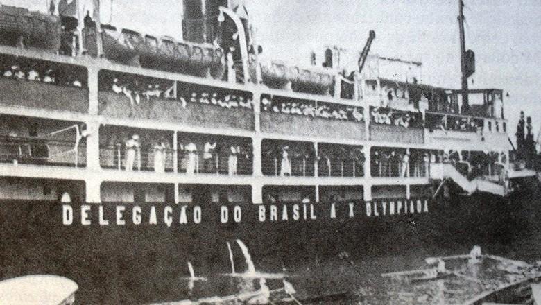 Navio Itaquicê (Foto: Acerj/Reprodução)