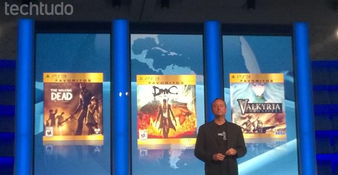 Sony anunciou também jogos mais baratos na coleção Favoritos do PS3 (Foto: Isadora Díaz/ TechTudo)