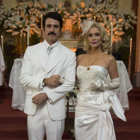 Eriberto Leão e Flávia Alessandra (Foto: Renato Rocha Miranda/TV Globo)