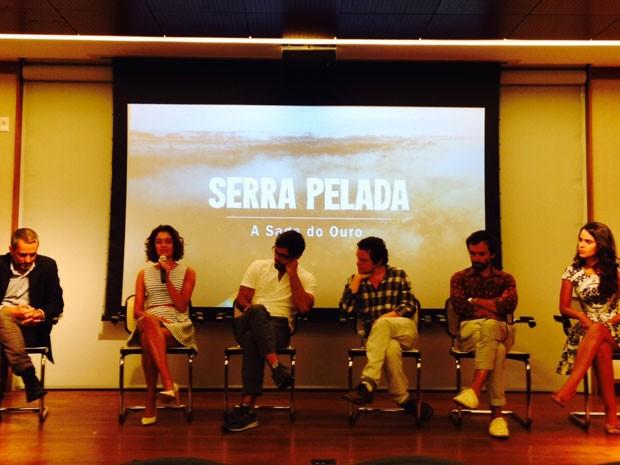 Elenco se reuniu para falar da série (Foto: Isabela Marinho  )