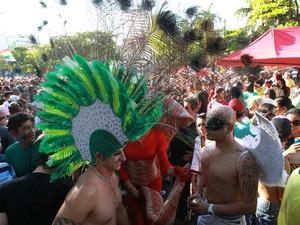 Parada Gay em Goiânia (Foto: Renato Conde/O Popular)