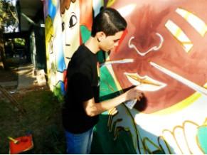 Ação - Mutirão - Arte Além dos Muros - Projeto Arrastão (Foto: Divulgação/Projeto Arrastão)