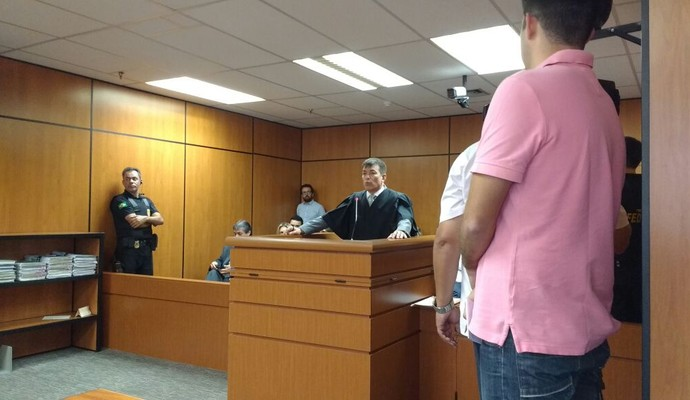 Horley Senna Guarani julgamento (Foto: Marcelo Andriotti)