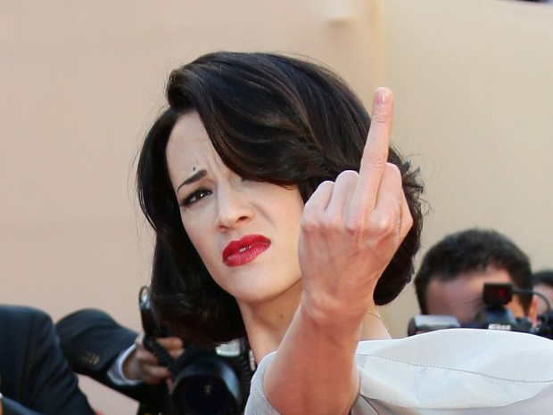 A atriz italiana Asia Argento (Foto: Getty)
