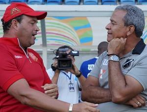 Roberto Fernandes Hélio dos Anjos América-RN ABC (Foto: Augusto Gomes/GloboEsporte.com)