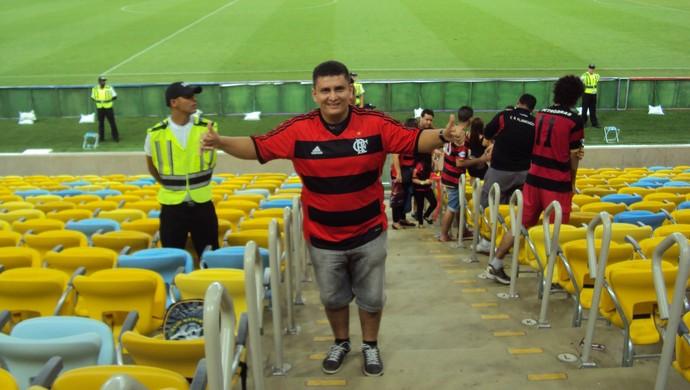 Torcida do FLA no Amapá se prepara para a estreia do time no Carioca 2014 (Foto: Kellder Costa/Arquivo Pessoal)