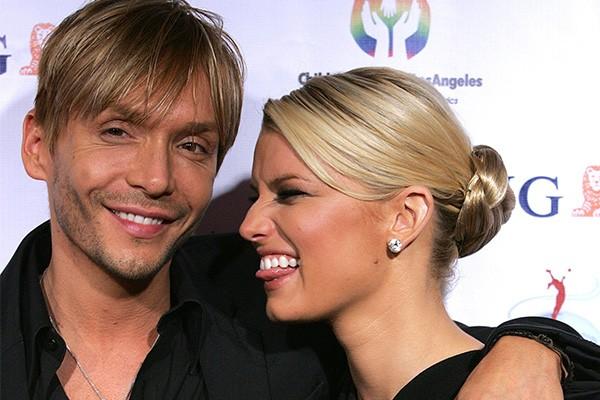 Ken Paves e Jessica Simpson (Foto: Getty Images)