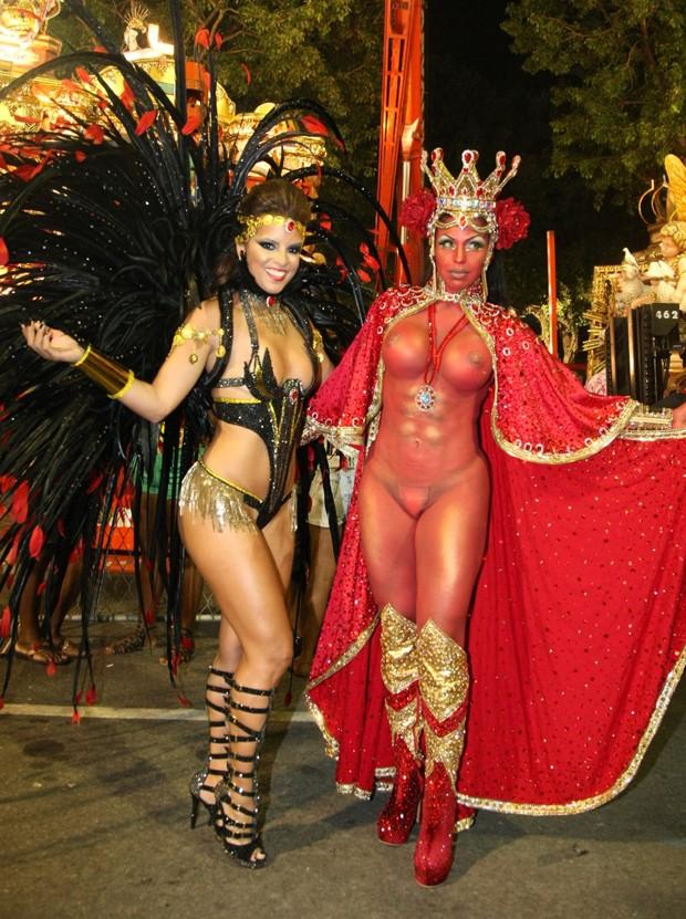 Renata Santos e Alessandra Rissati (Foto: Sérgio Gallo/ Ed. Globo)