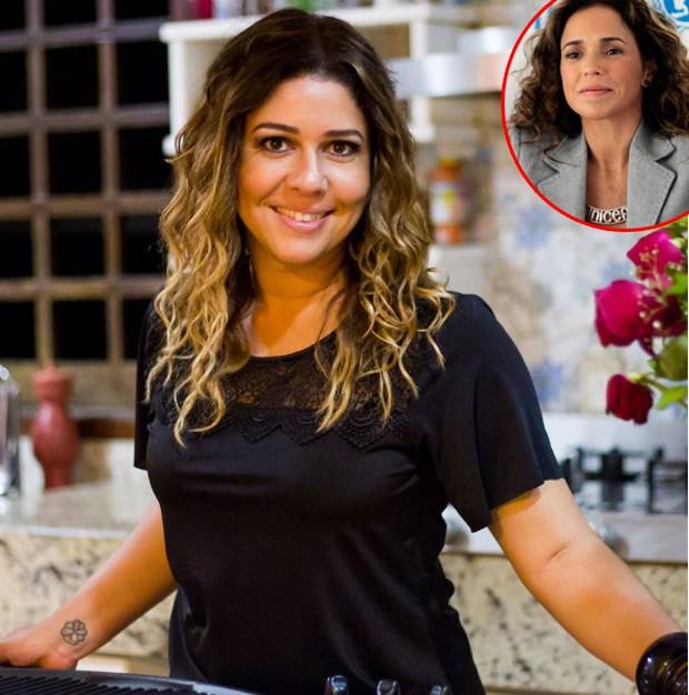 Malu Verçosa ganha declaração de Daniela Mercury (Foto: Reprodução)