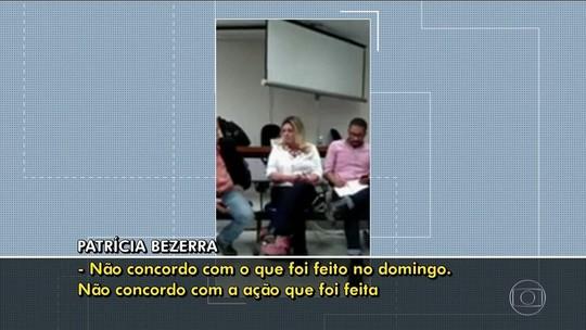 'Não concordo com o que foi feito', diz ex-secretária de Doria em vídeo