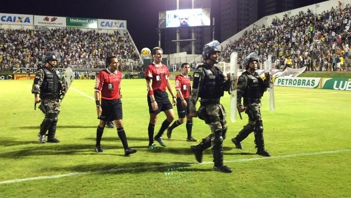 Guilherme Ceretta de Lima - árbitro (Foto: Jocaff Souza/GloboEsporte.com)