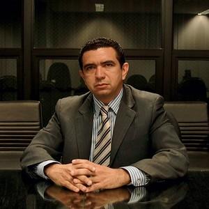 INSPEÇÃO O juiz Douglas Martins.  Ele foi  ao Maranhão  a mando de Joaquim Barbosa (Foto: Beto Barata)