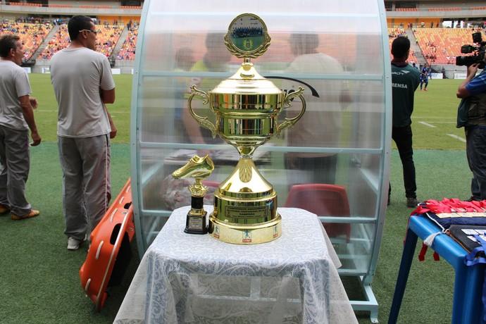 Taça Campeonato Amazonense (Foto: Gabriel Mansur)