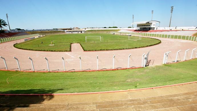 Estádio Gigante do Norte Sinop (Foto: Ednilson Aguiar/Secom-MT)