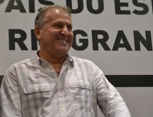 Zico em Natal - fórum (Foto: Jocaff Souza/GloboEsporte.com)