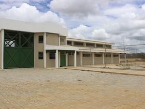 Penitenciária em Tacaimbó  tem capacidade para 676 reeducandos (Foto: Divulgação/Assessoria)