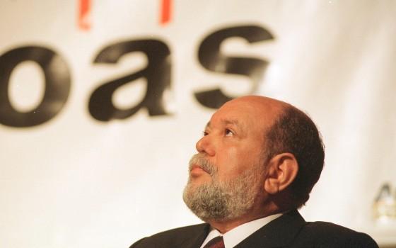 O ex-presidente da OAS, Léo Pinheiro (Foto: Beto Barata/ Estadão Conteúdo)