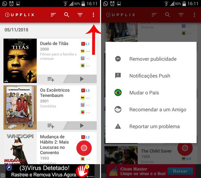 Você pode usar o Upflix para saber o que o Netflix oferece em outros países (Foto: Reprodução/Filipe Garrett)